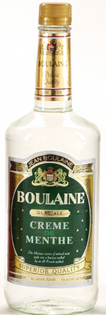 Boulaine Creme de Menthe White 1.00l - Case of 12
